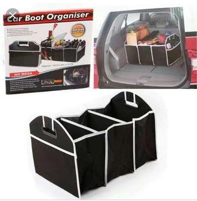 Multipurpose Travel Car Boot Organizer image 3