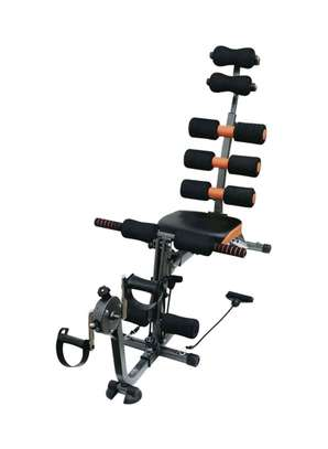 Six Pack Care Abdominal Machine With Bicycle image 1
