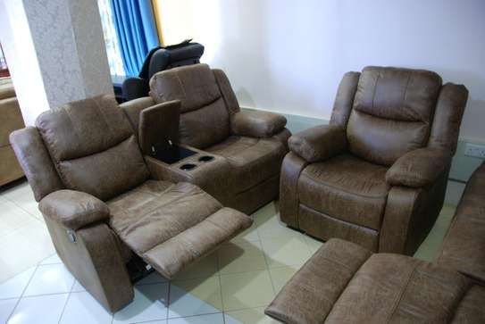 Imported Microfiber Recliner Sofas
