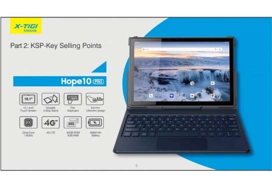 "X-Tigi Hope 10 Pro Tablet: 10.1"" inches - 3GB RAM - 32GB ROM - 8MP Camera - 4G - 6000 mAh Battery"