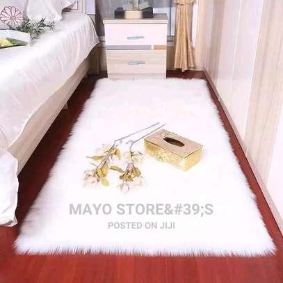 Faux Fur Bedside Mats image 6
