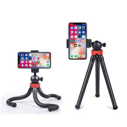 Flexible Portable Travel Octopus Tripods for camera and smartphone