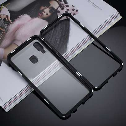 Magnetic Double-sided 360 Full Protection Glass Case for Samsung A70 A60 A50 A40 A30 image 4