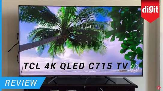 TCL 55 inches  Q-LED C715 Android Smart UHD-4K Digital TVs image 1