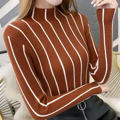 Knit Sweater Tops image 3