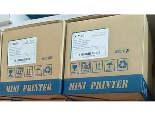Zywell ZY303 USB Lan Ethernet POS Thermal Receipt Printer image 1