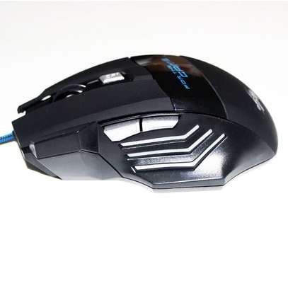 Professional Wired USB Optical Gaming Mouse  - 5500DPI image 5
