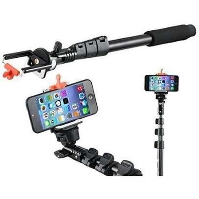 Yunteng 188 Portable Selfie Stick Hand Holder Camera iPhone Mobile Phone Selfie image 1