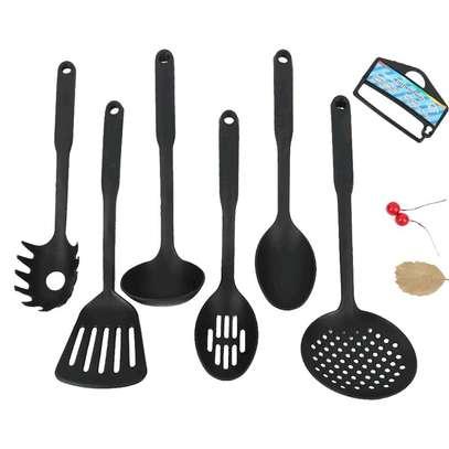 6pcs Heat Resistant Kitchen spoons image 1