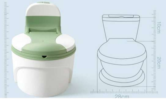 Children Simulation Toilet Infant Pony Bucket Potty Seat with Removable Inner Bucket image 10