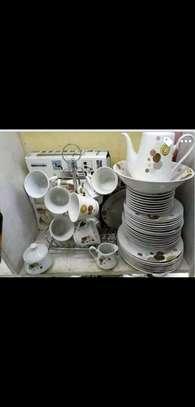 47pcs dinner set/ceramic dinner set image 2