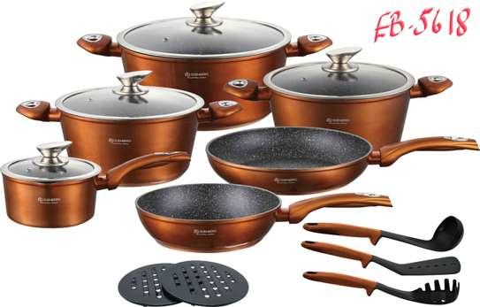 15pcs Cookware set image 4