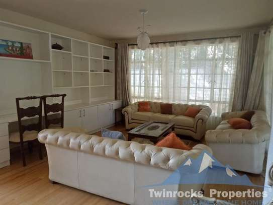 Furnished 4 bedroom house for rent in Karen image 17