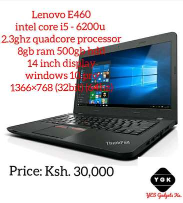 Lenovo E460 intel core i5 - 6200u  2.3ghz quadcore processor image 1
