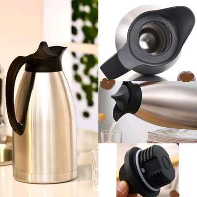 STAINLESS STEEL VACUUM FLASK 2l image 1