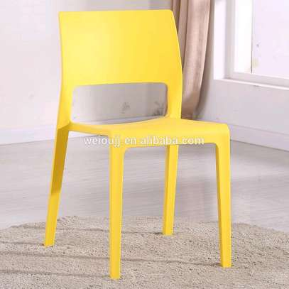 Stackable Outdoor/Hotel Plastic Chairs image 4
