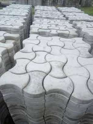 Cabro paving blocks