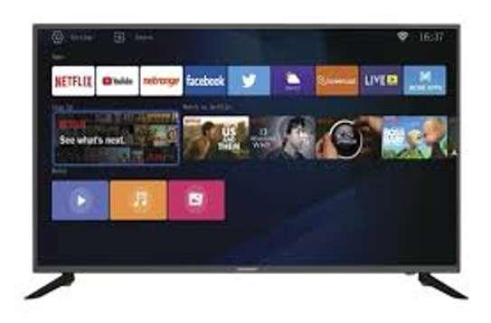 "Skyworth 50"" 50Q20 LED Smart Android Ultra HD 4K TV - Black image 1"