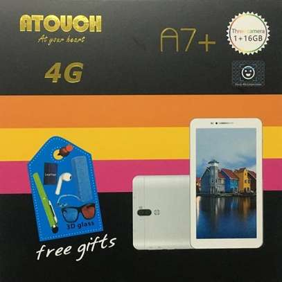 """Atouch A7 Plus Kids Tablet: 7.0"""" inch - 1GB RAM - 16GB ROM - 4G LTE - 3000 mAh Battery image 1"""