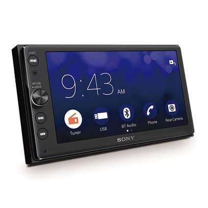 "Sony XAV-AX100 - 6.4"" Touch Screen display, Bluetooth, Apple Car Play Android Auto Car Stereo Radio Tuner Player image 2"