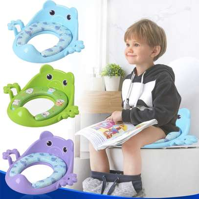 oilet Training Seat Guard- Thick, Comfortable & Soft Padded For Baby /Toddler Kids Child
