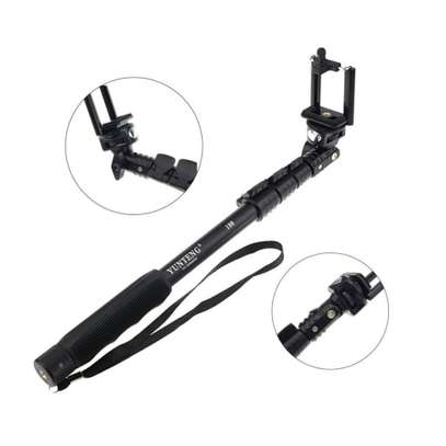 Selfie Stick YUNTENG YT 188 Self-portrait Monopod with Bluetooth Remote with Stick Clip image 1