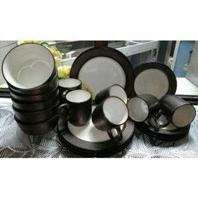 24 ceramic dinner set image 2
