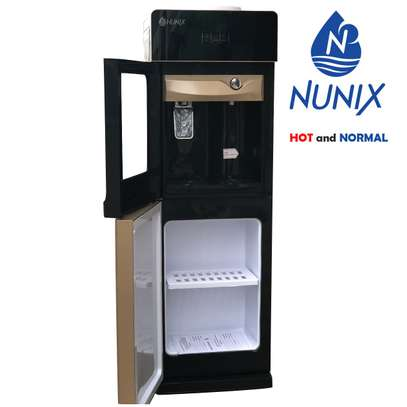 Hot and Normal Free Standing Water Dispenser- Champagne Gold NUNIX image 2