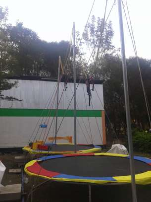 Star jump trampoline based for hire