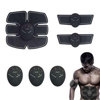 Abdominal Muscle Training Wireless EMS Belt Gym Body Massage image 1
