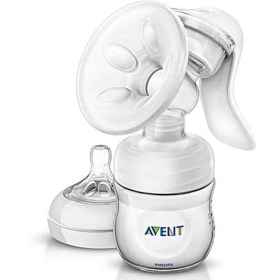 Philips AVENT Natural Breast Pump - Clear image 1