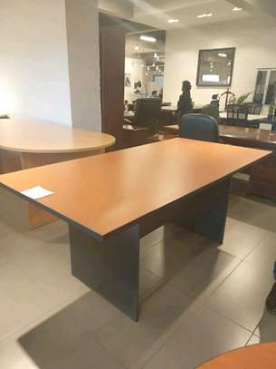 Boardroom table.