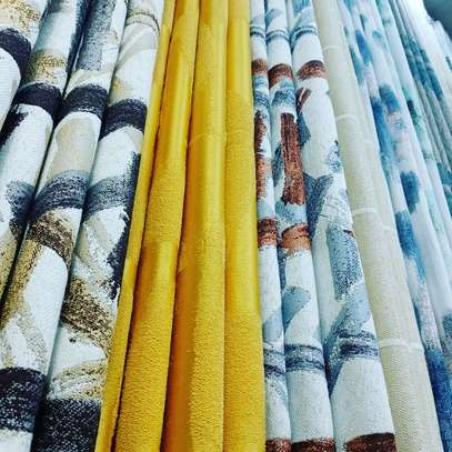 HEAVY FABRIC ADORABLE CURTAINS image 5