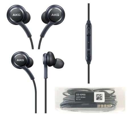 Original Samsung AKG Earphones  3.5mm In-ear with Mic Wire Headset image 1