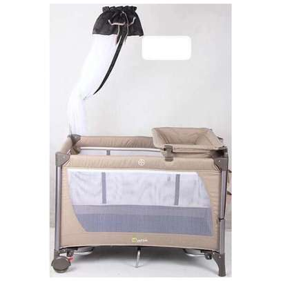 Baby Playpen With Baby Changing Station And Mosquito Net image 1