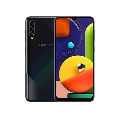 "Samsung Galaxy A50s, 6.4"", 4GB + 128GB (Dual SIM), Prism Crush Black image 1"