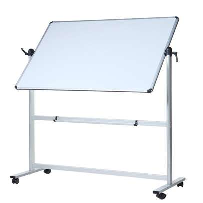 Portable double-sided Whiteboard 8*4FT image 1