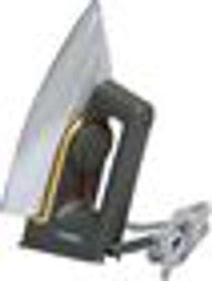 Classic Dry Iron, 1000-1200W - Grey & Silver image 2