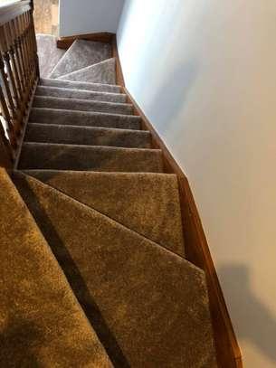 Charcoal grey wall to wall carpets image 8