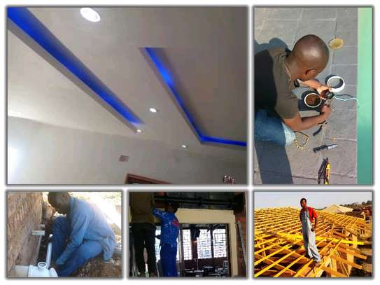 House painting ,tilling ,bathroom makeovers ,blinds ,electrical ETC image 5