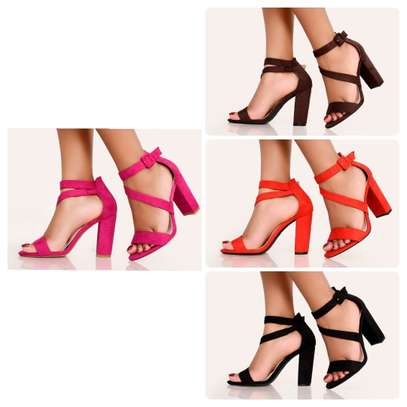 Pink Basic Ladies Pumps Open Toe Formal/Casual Shoes image 2