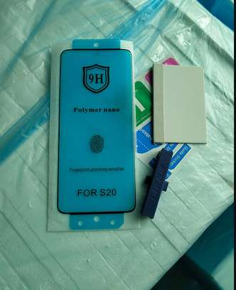 Ceramic 5D Glass Protector Flexible Anti-Break,Anti-Fingerprint for Samsung S20 S20+ S20 Ultra image 3