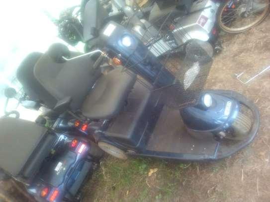 Motorized electric wheel chair