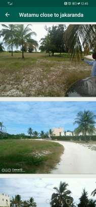 A 6 acres sand beach plot for sale in Malindi image 4