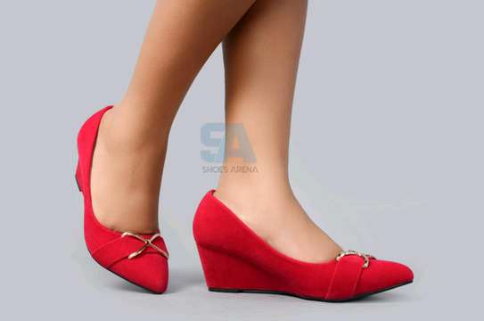 Suede Wedges shoes image 2