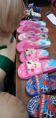 Kids cartoon themed sandal image 2