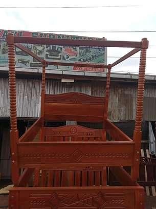 Mahogany bed image 1