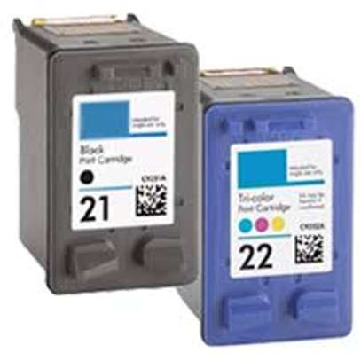 HP inkjet refilling 21 and 22 cartridges image 2