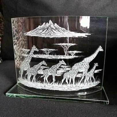 Hand engraved glasses image 1
