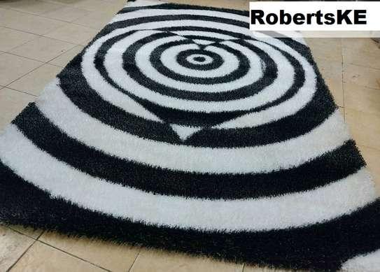 Turkish  soft black and grey carpet image 1